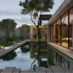 Country villa in Monteuil by Alexandra Fedorova 03