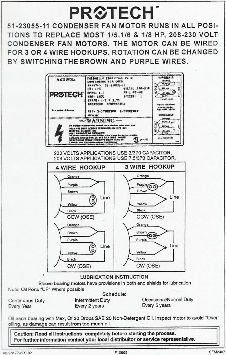 5 Wire Condenser Fan Motor Diagram Wiring Library 4 Electric Schematic Schematics And Diagrams