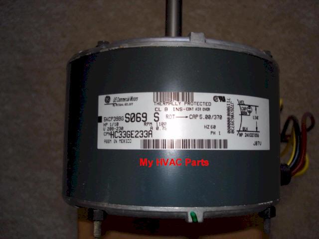 HC33GE233 Carrier Heat Pump condenser fan motor