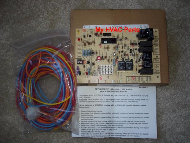 Goodman Control Board B18099-23 Instructions