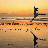 Dancing Sunset: Life Taps Its Toes to Your Beat