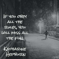 Katharine Hepburn: On Rules and Fun