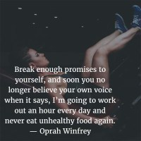 The Quotable Oprah Winfrey: On Promises