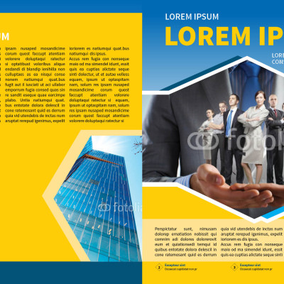 Corporate Business Newsletter Template MyInDesign - corporate newsletter template
