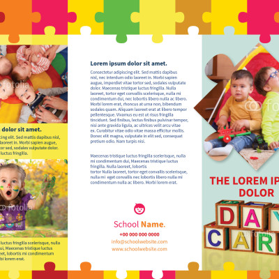 Day-Care Flyer Template MyInDesign - daycare flyer