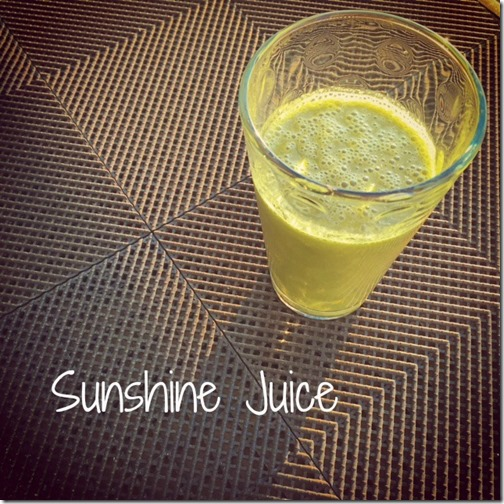 Sunshine Juice