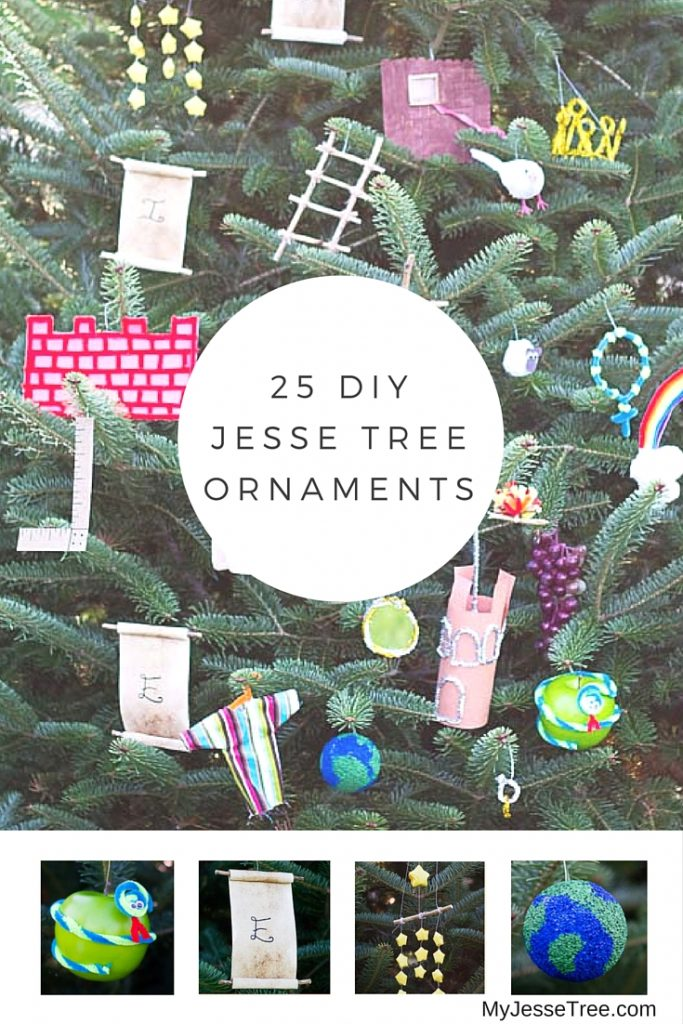 DIY Jesse Tree Ornaments - My Jesse Tree