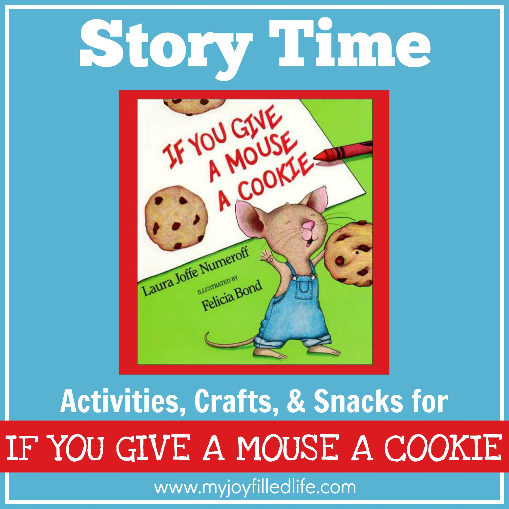 if you give a mouse a cookie story time activities