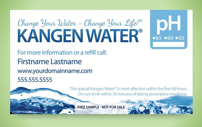 Bottle Stickers  Kangen Water Bottle Sticker