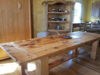 Outstanding Solid Wood Kitchen Table Placed as Classic ...
