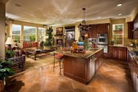 Open Kitchen Design Ideas with Living and Dining Room ...