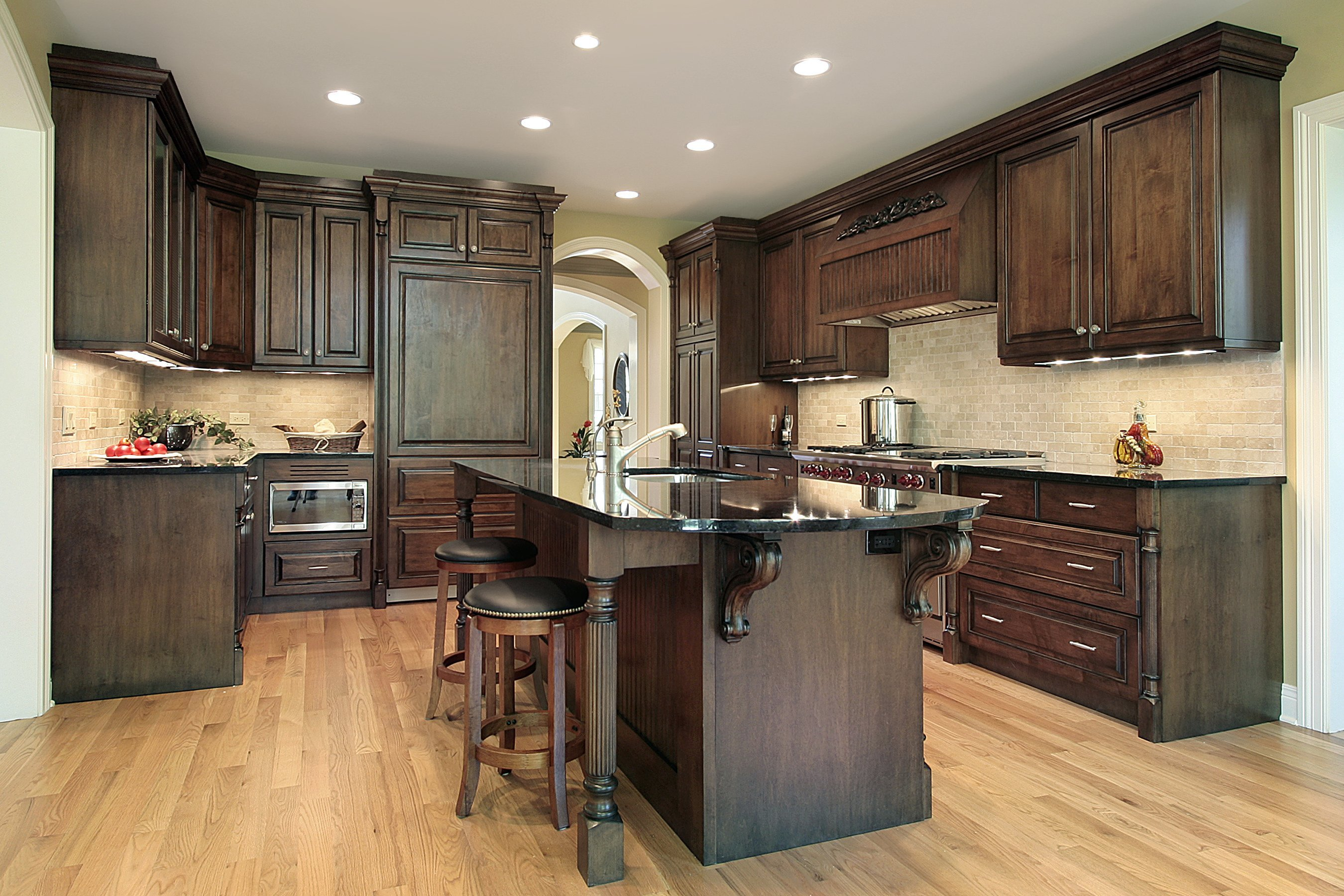 Beautiful Wood Kitchen Cabinets Options And Ideas