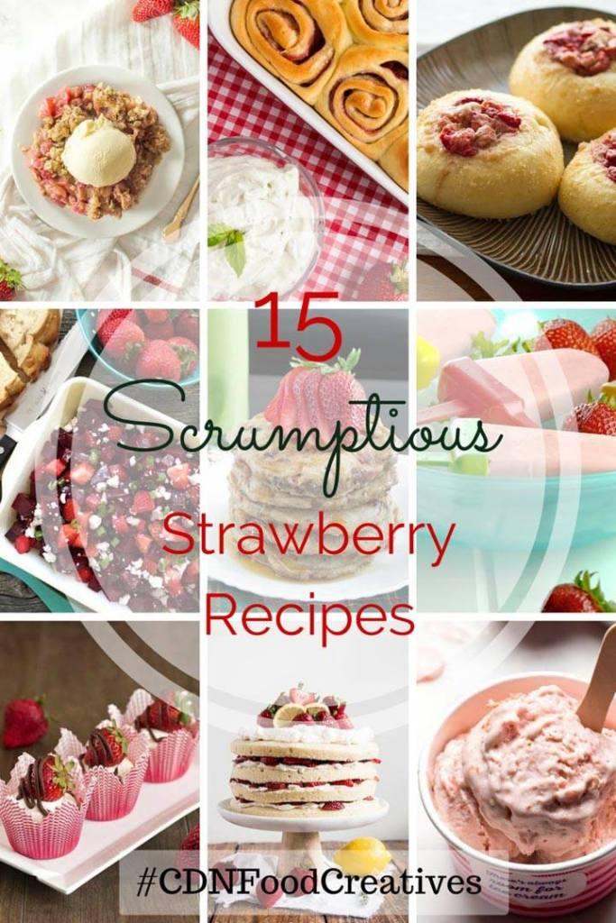 Cdn Food Creative Strawberry Recipes   My Kitchen Love
