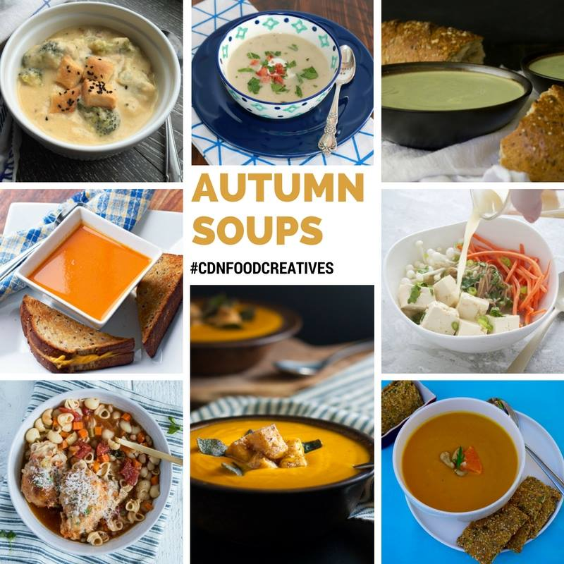 Autumn Soup Collaboration | My Kitchen Love. Fall comfort foods.