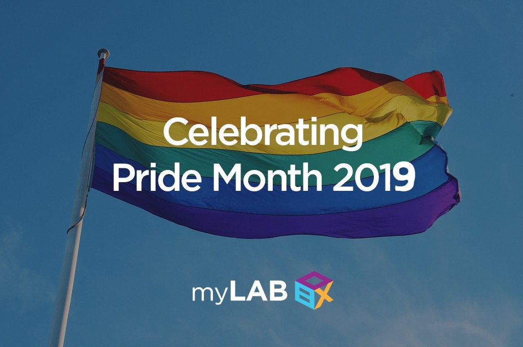 Celebrating Pride Month 2019 myLAB Box™