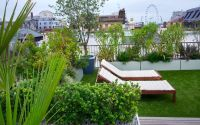 Roof garden design | contemporary roof gardens London ...