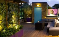 Terrace garden design | contemporary rooftop London ...