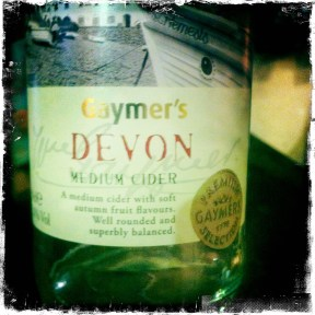 Devon Medium Cider - Gaymer's (371)
