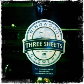 Three Sheets - Ringwood Brewery