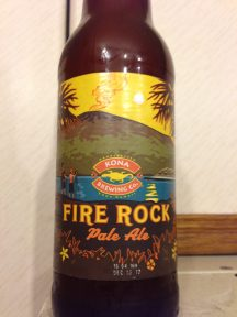Fire Rock Pale Ale - Kona Brewery