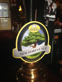 New Forest Ale - Downton Brewery