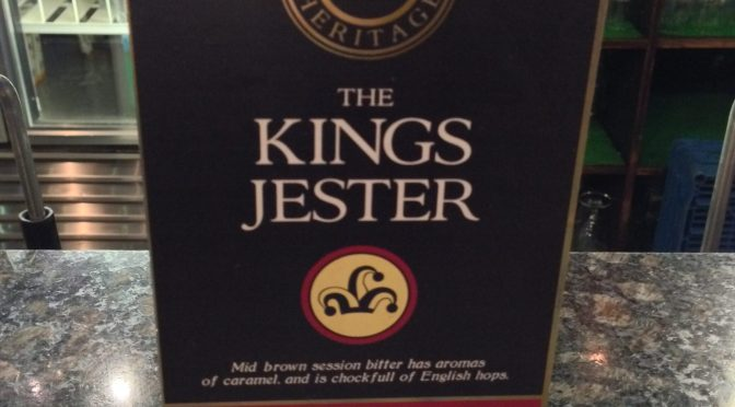 Kings Jester – Kings Heritage Brewhouse