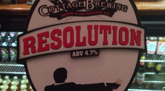 Resolution – Cottage Brewing