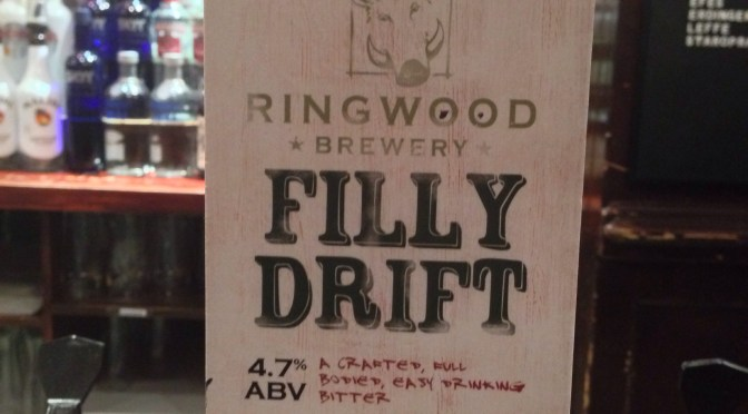 Filly Drift - Ringwood Brewery