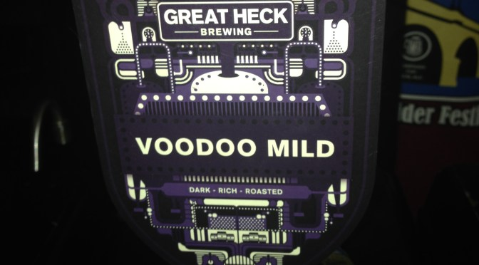 Voodoo Mild - Great Heck Brewery