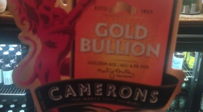 Gold Bullion – Camerons Brewery