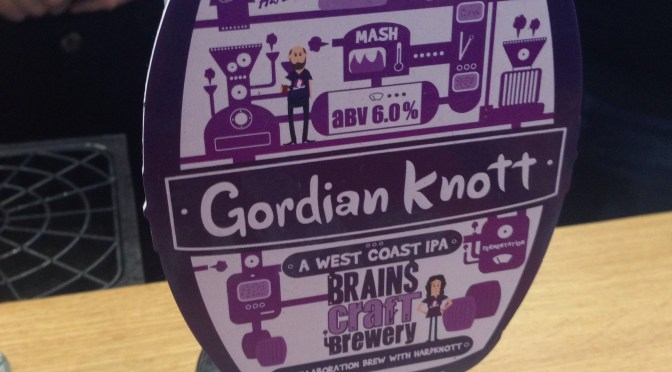 Gordian Knott – Brains Brewery