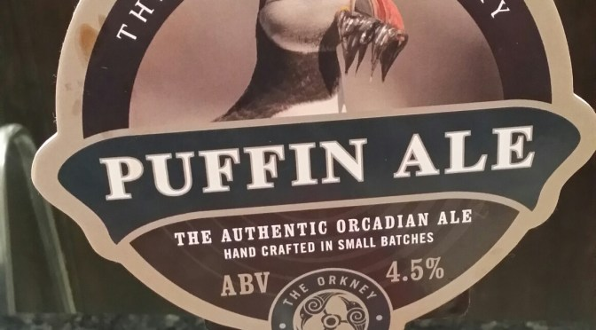 Puffin Ale – Orkney Brewery
