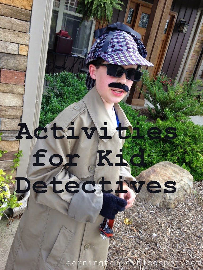 Activities for Kid Detectives