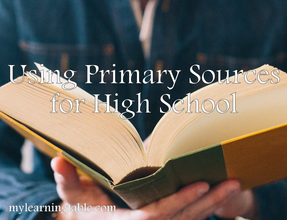 Using Primary Resources for High School