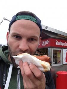 Bæjarins Beztu - worlds most popular hot dog stand - even Bill Clinton ate one