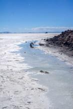 salt flat water