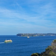 Manly Scenic Walk ferry to Sydney
