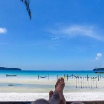 Koh Rong Samloem THE BEACH