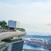 Marina Bay Sands hotel pool