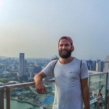 Marina Bay Sands skyline me
