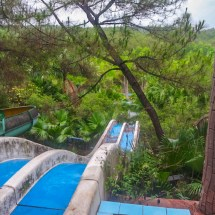 abandoned waterpark slide I
