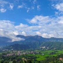 Kopan-dining room mountain view