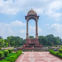 New Delhi-monument in front of India Gate