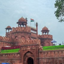 New Delhi-red fort