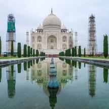 Taj Mahal-mirroring front