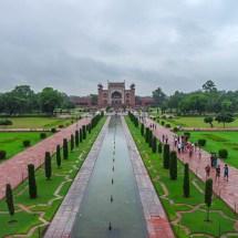 Taj Mahal-view from taj