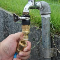 MyLifeUNIT: Brass Garden Hose Quick Connect Fittings Set