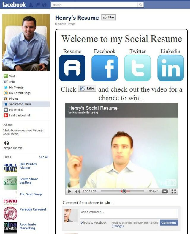 Ten Creative Social Media Resumes To Learn From - BEST JVZOO WSO REVIEW