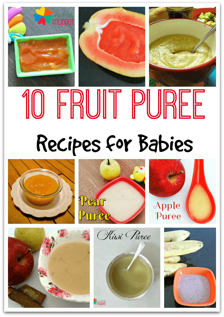 How to Make Fruit Purees for Babies How to Make Fruit Purees for Babies new pics