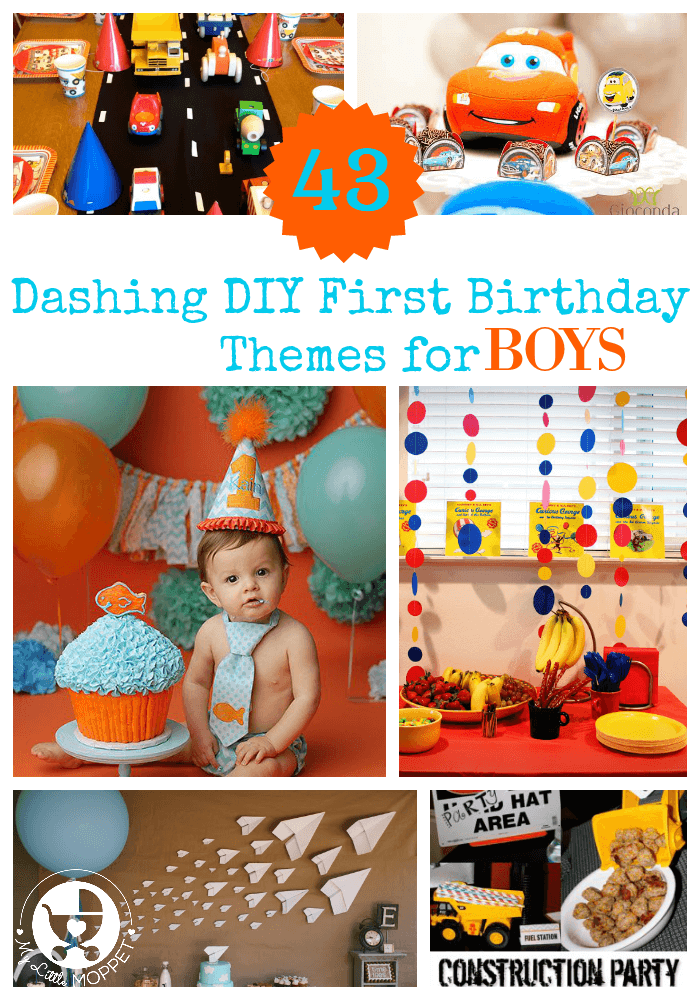 1st bday ideas for a boy